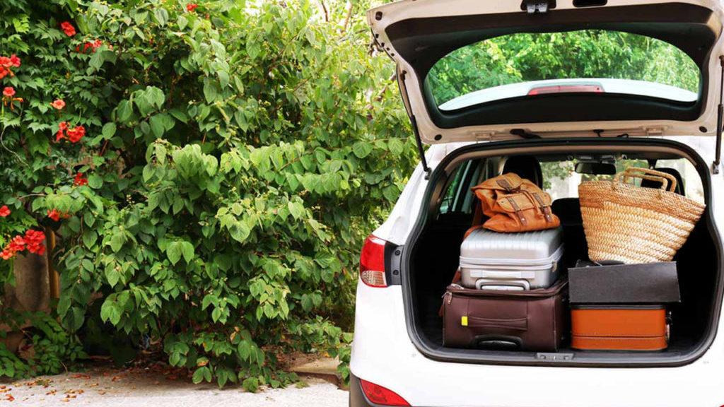 Elektrische auto op vakantie