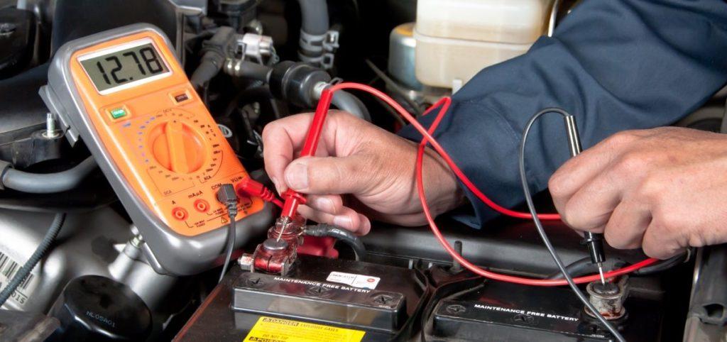 Onderhoud elektrische auto